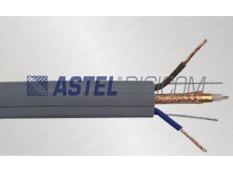 FLAT ELEVATOR CABLE RG-59 WITH POWER