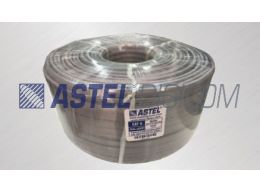 FLAT ELEVATOR CABLE DUAL JACKET UTP CAT6 COPPER