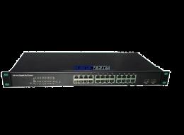 ASTEL PoE Switch 24 Port xGB  POE WITH 2 SFP/RJ45 COMBO PORTS