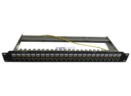 SHIELDED PATCH PANEL CAT6A 24 PORTS