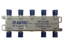 HP1G 1x8 Indoor Splitters 5-1000 MHz