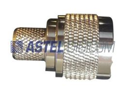 N Connector Male Crimp type