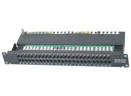 UNSHIELDED VOICE (RJ11) PATCH PANEL CAT3 50P