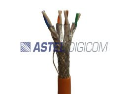 Dual Shielded (Individual pair shielded Pure Copper CAT7)