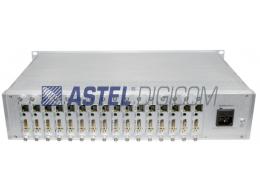 Astel Digital Modulator 16 HDMI Input, IPTV H265 Output
