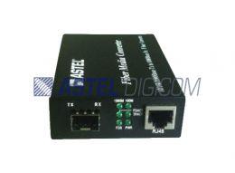 E2F-Ethernet to Fiber Gigabit SFP Media Converter LC Ports