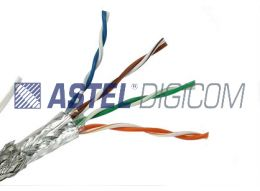 Dual Shielded Pure Copper CAT5E for Indoor Application