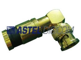 BNC Connector Male Compression type Gold Series