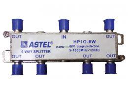 HP1G 1x6 Indoor Splitters 5-1000 MHz