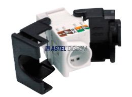 UNSHIELDED KEYSTONE JACK CAT6 TOOLLESS