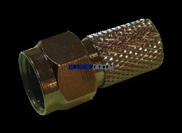 F type coaxial connectors
