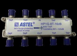 TAPOFF-HP1G-8T-XX Series 5-1000 MHz