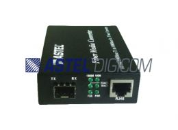 E2F-Ethernet to Fiber Gigabit SFP Media Converter LC Ports